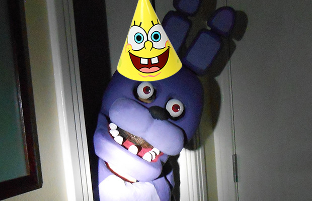 It S A Five Nights At Freddy S Themed Birthday Party