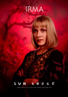SUN CHOKE Character Poster - Irma, Bloody Disgusting Exclusive