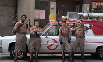 Ghostbusters, image via Sony