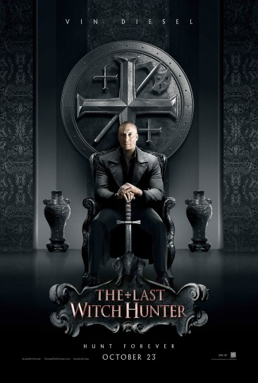 Last Witch Hunter poster, courtesy of Lionsgate