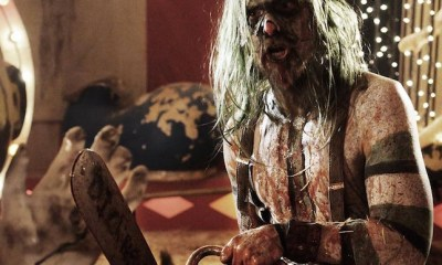 LEW TEMPLE as PSYCHO-HEAD from Rob Zombie's next film 31
