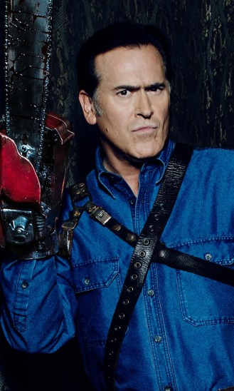 Bruce Campbell as ASH in the Starz series ASH VS EVIL DEAD