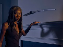 Danai Gurira as Michonne - The Walking Dead _ Season 6, Gallery - Photo Credit: Frank Ockenfels 3/AMC