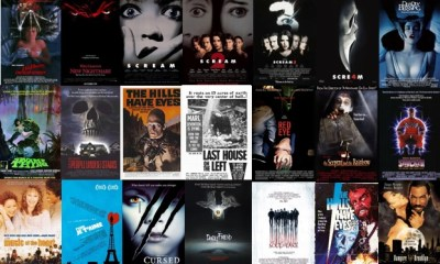 Wes Craven Movie Posters