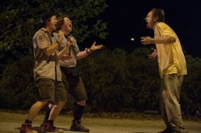 Left to right: Logan Miller plays Carter and Joey Morgan plays Augie in SCOUTS GUIDE TO THE ZOMBIE APOCALYPSE from Paramount Pictures.