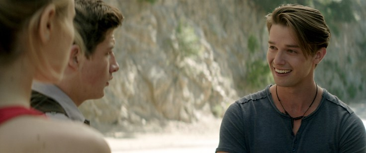 Patrick Schwarzenegger plays Jeff in SCOUTS GUIDE TO THE ZOMBIE APOCALYPSE from Paramount Pictures.