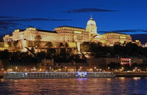 Buda Castle in Hungary
