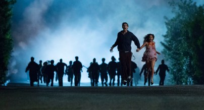"""Nick Braun and Vanessa Hudgens in Columbia Pictures' """"Freaks of Nature."""""""