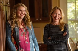 """Jillian Bell, left, and Amy Ryan in Columbia Pictures' """"Goosebumps,"""" starring Jack Black."""