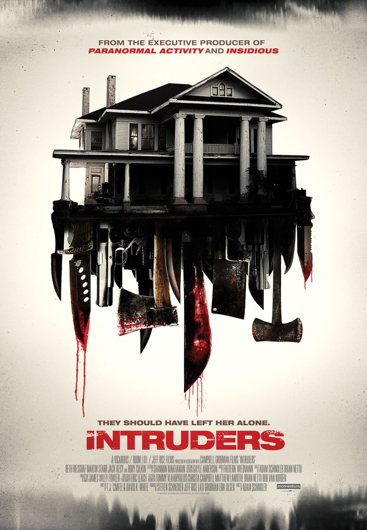 INTRUDERS (SHUT IN) Art, courtesy of Momentum Pictures