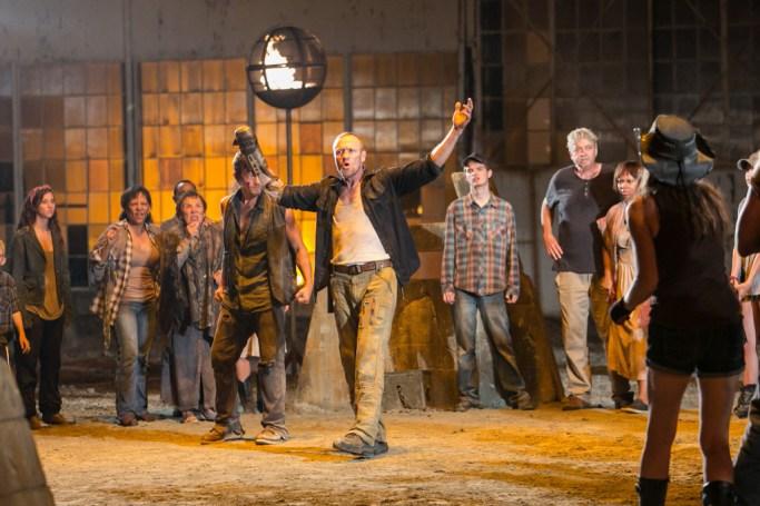 Daryl Dixon (Norman Reedus) and Merle Dixon (Michael Rooker) - The Walking Dead - Season 3, Episode 9 - Photo credit: Tina Rowden/AMC
