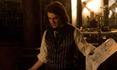 VICTOR FRANKENSTEIN, via Fox, starring Daniel Radcliffe, James McAvoy, Jessica Brown Findlay, Andrew Scott, Freddie Fox.
