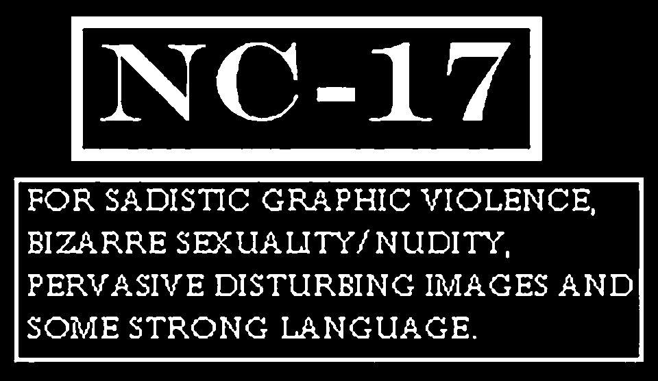 Movies Rated Nc-17 For Sexuality