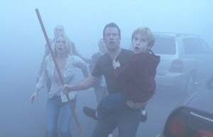 Laurie Holden, Thomas Jane and Nathan Gamble star in Frank Darabont's adaptation of Stephen King's The Mist.