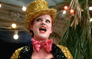 Nell Campbell in Rocky Horror Picture Show
