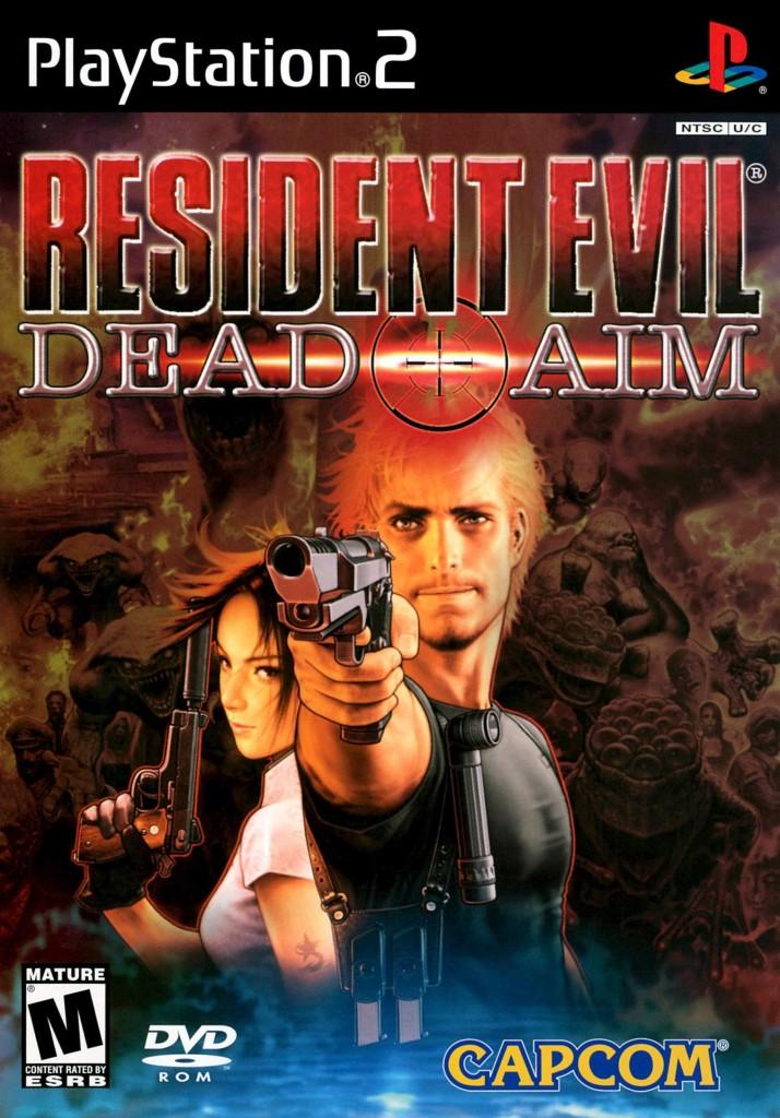 Resident Evil original box art print