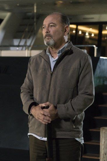 Rubén Blades as Daniel Salazar - Fear The Walking Dead _ Season 2, Episode 01 - Photo Credit: Richard Foreman, Jr/AMC