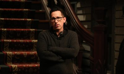 DARREN LYNN BOUSMAN on the set of ABATTOIR