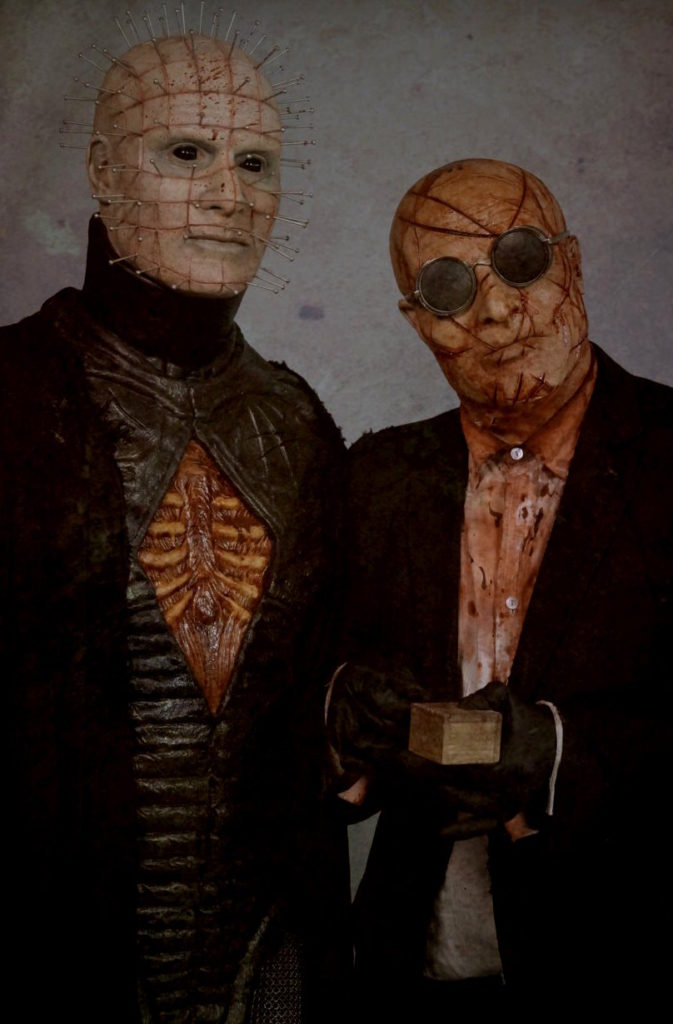 HELLRAISER: JUDGMENT shot via Gary J. Tunnicliffe