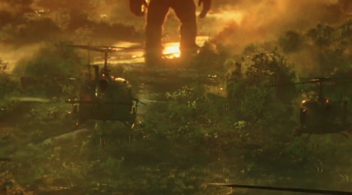 Kong skull island soundtrack on cd -  Kong Skull Island Trailer As Much Of A Spectacle As King Kong Himself Sdcc Bloody Disgusting