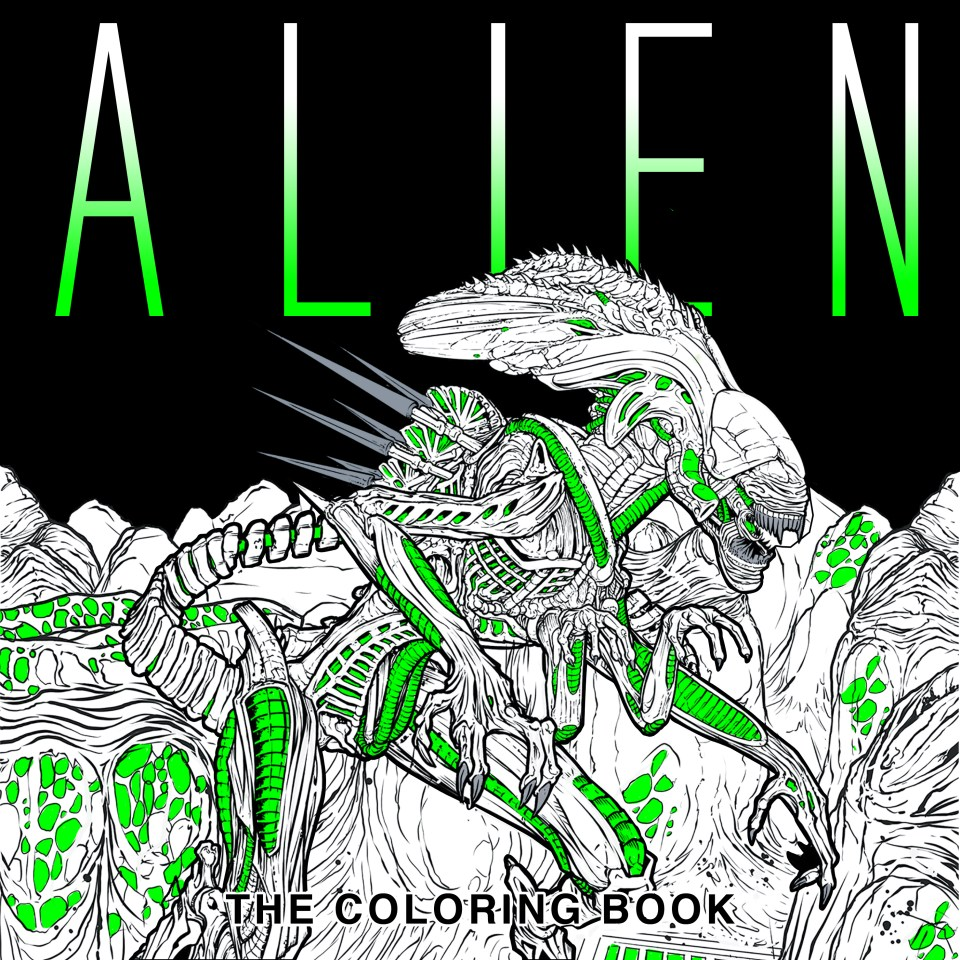 Alien-ColoringBook