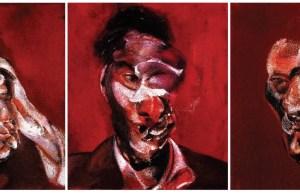 Three Studies for Portrait of Lucian Freud