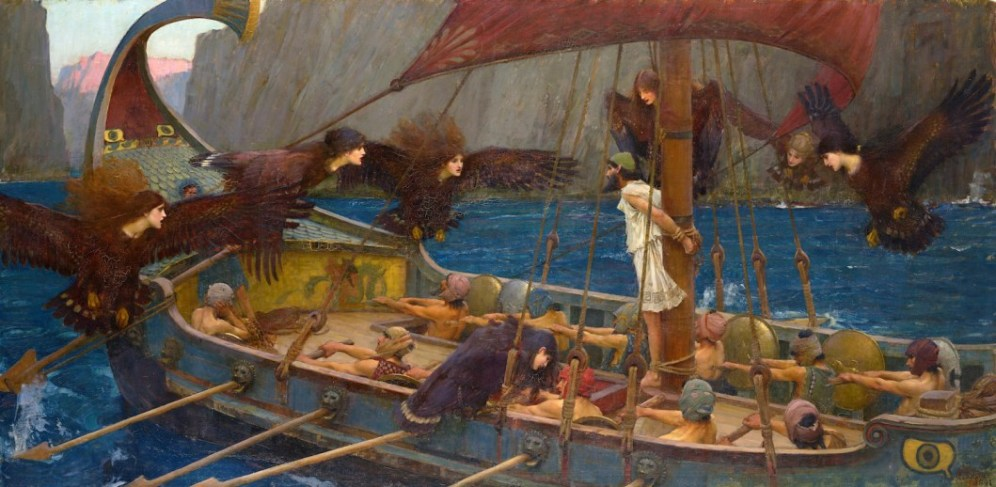 """Ulysses and the Sirens"" John William Waterhouse"