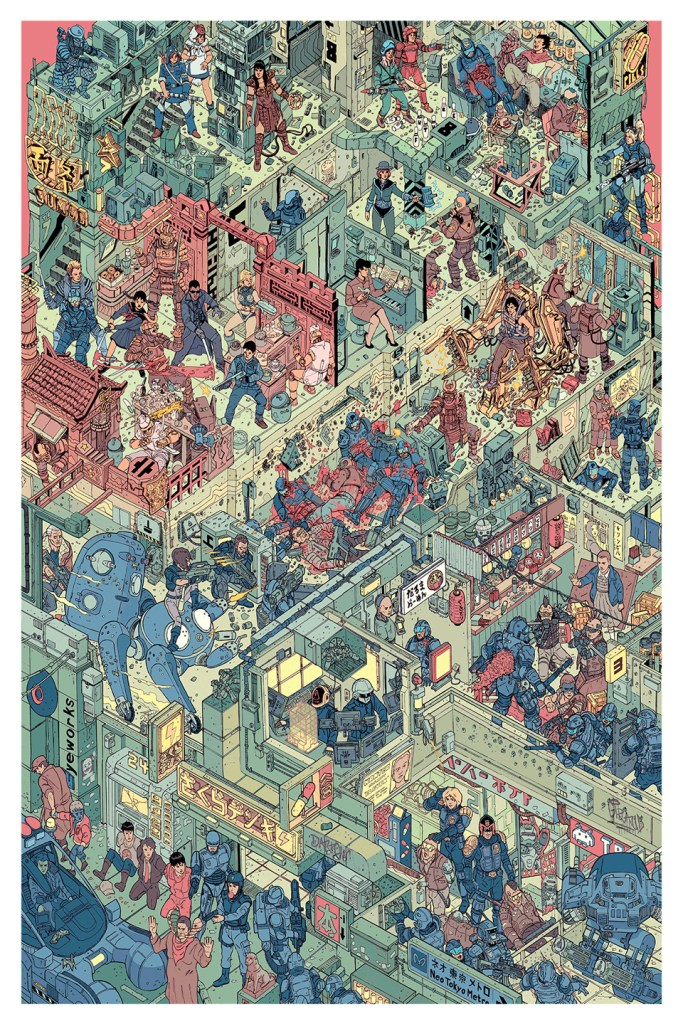 the_raid_print_poster_by_josan_gonzalez_laurie_greasley_1