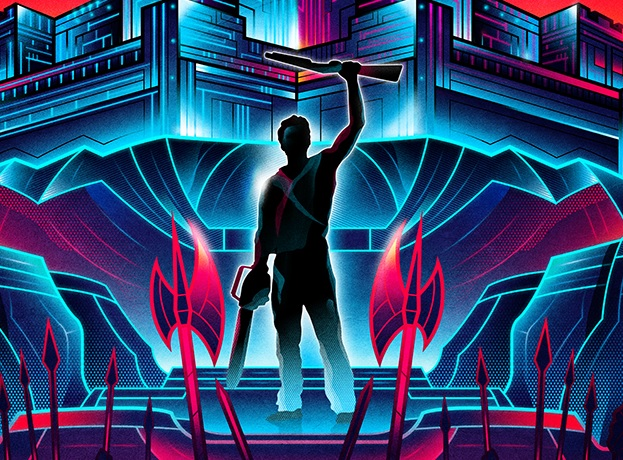 These Vibrant Neon Horror Posters Are Unlike Anything You've Seen - Bloody Disgusting