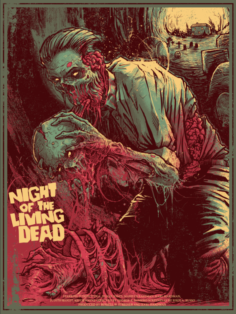 20 fan made horror movie posters that blew us away in 2016 for Making prints of paintings