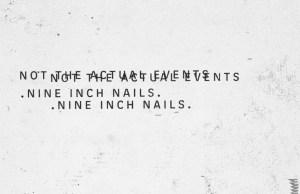 NINE INCH NAILS 2016