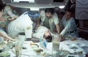 Ridley Scott's ALIEN via FOX (John Hurt)