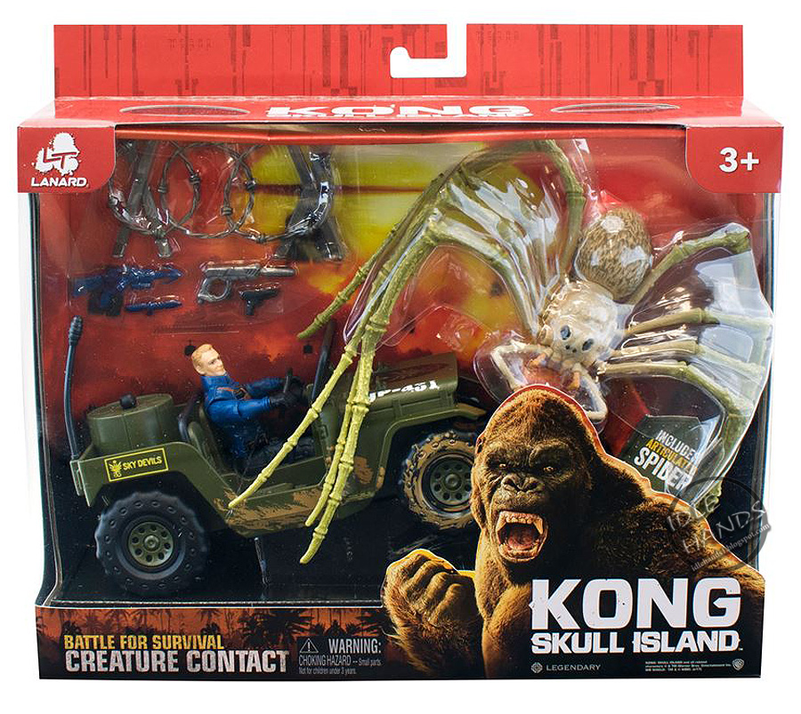 We Totally Want to Play with These Awesome 'Kong: Skull