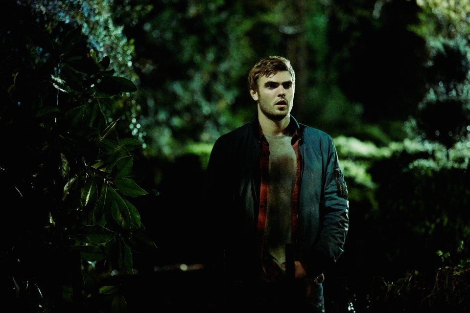 Alex Roe as Holt in the film RINGS by Paramount Pictures