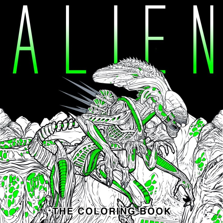 Download Four Exclusive \'Alien\' Coloring Book Pages! - Bloody Disgusting