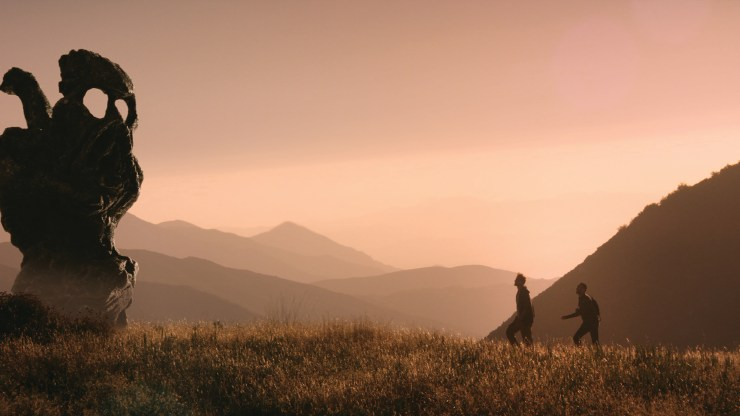 Aaron Moorhead as Aaron and Justin Benson as Justin in THE ENDLESS. Photographer: William Tanner Sampson.