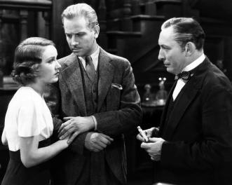 THE VAMPIRE BAT, Fay Wray, Melvyn Douglas, Lionel Atwill, 1933