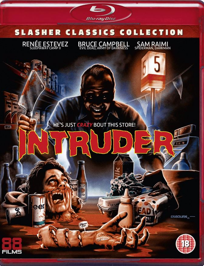 Blu-ray Review] Underrated 80's Slasher 'Intruder' Gets a