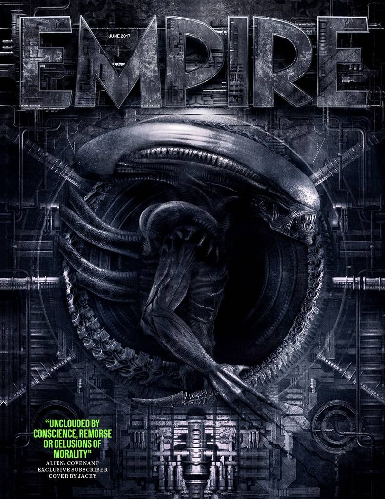 new u0027alien covenant u0027 images found in empire magazine bloody