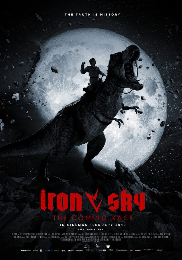 Hitler Rides a T-rex in the Trailer for 'Iron Sky: The Coming Race'