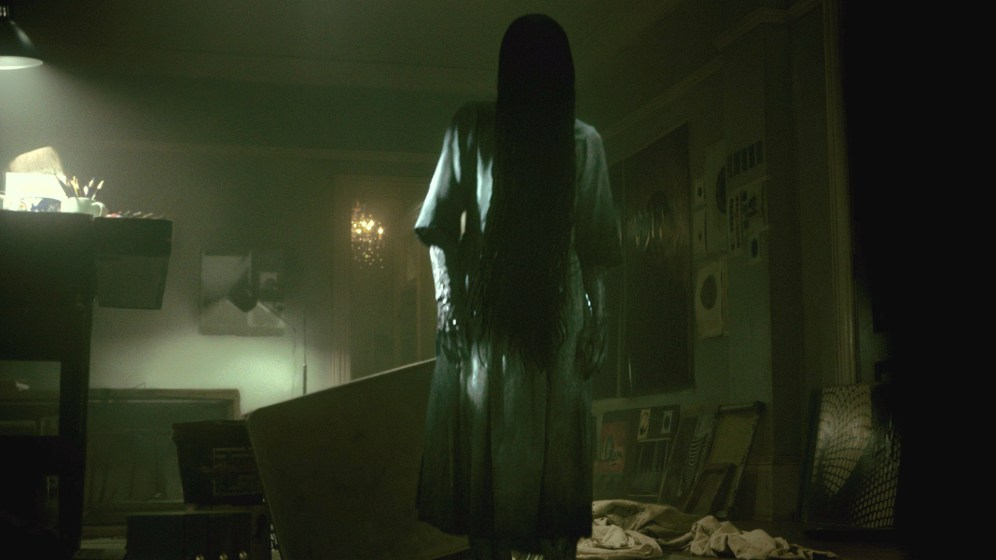 Bonnie Morgan as Samara in the film RINGS by Paramount Pictures