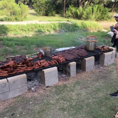 A good ol'fashioned pig roast, courtesy of Micklethwait Craft Meats.