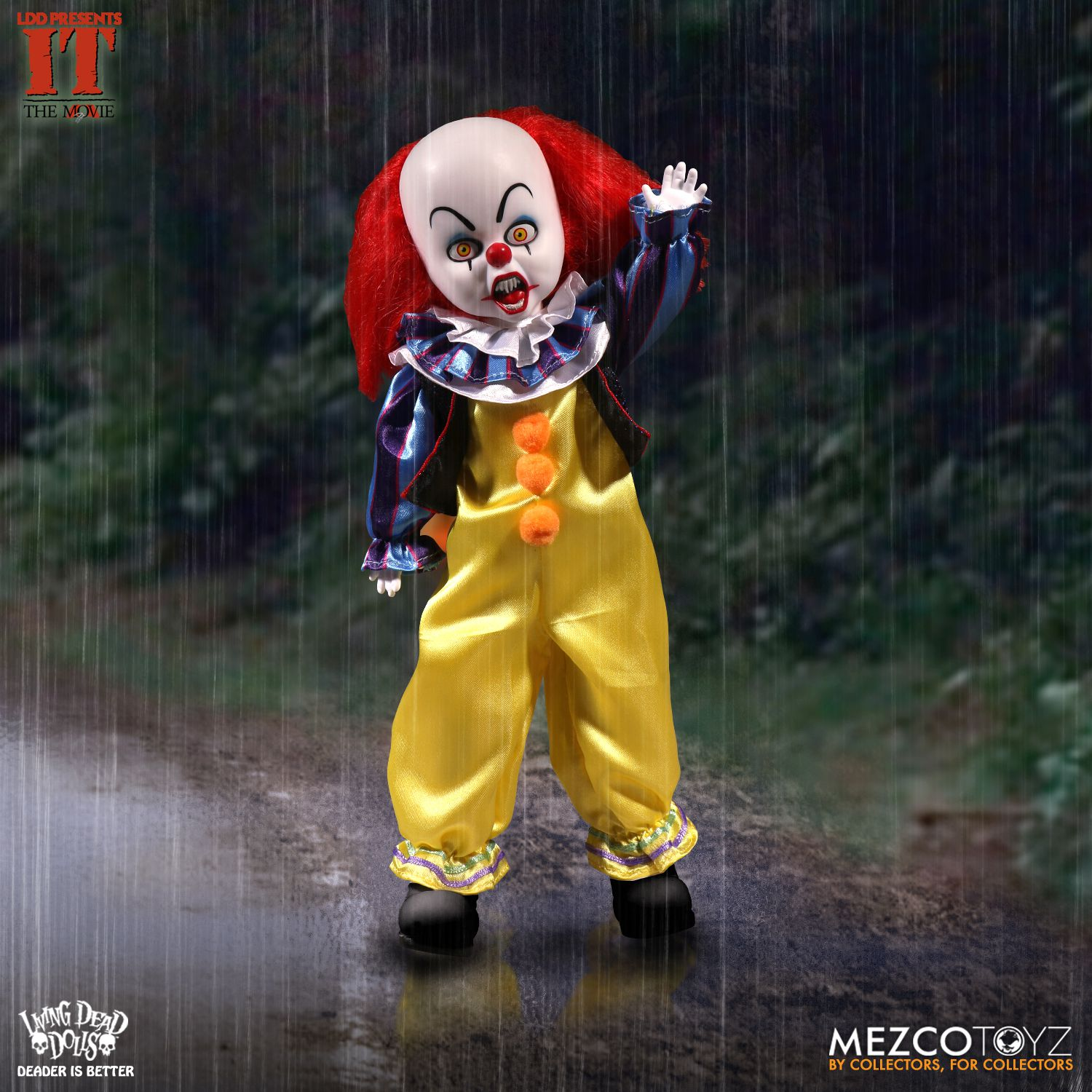 Pennywise Living Dead Doll Floats Up From The Sewers