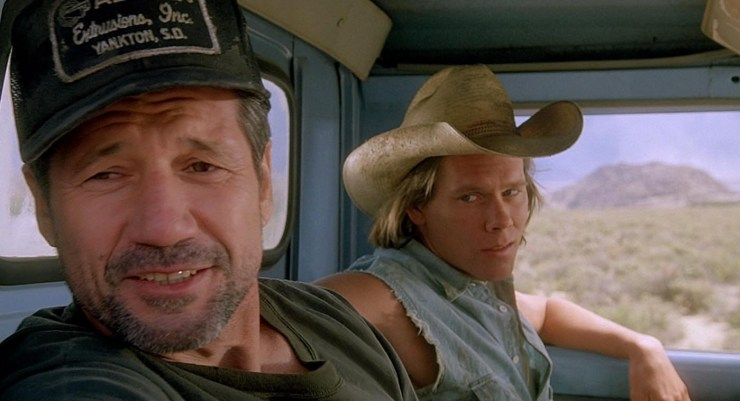 Kevin Bacon in TREMORS via Universal