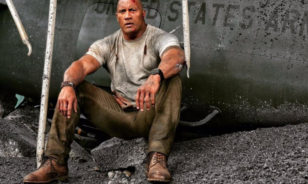Dwayne Johnson Refuses to Go Gently on the 'Rampage' Set