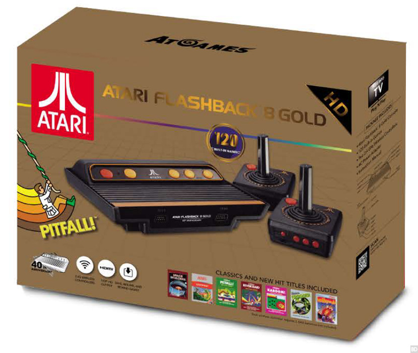 Retro power atari 2600 and sega genesis retro consoles - Atari flashback classic game console game list ...