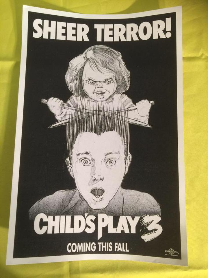 Fan Unearths Rare Child S Play 3 Poster Concepts