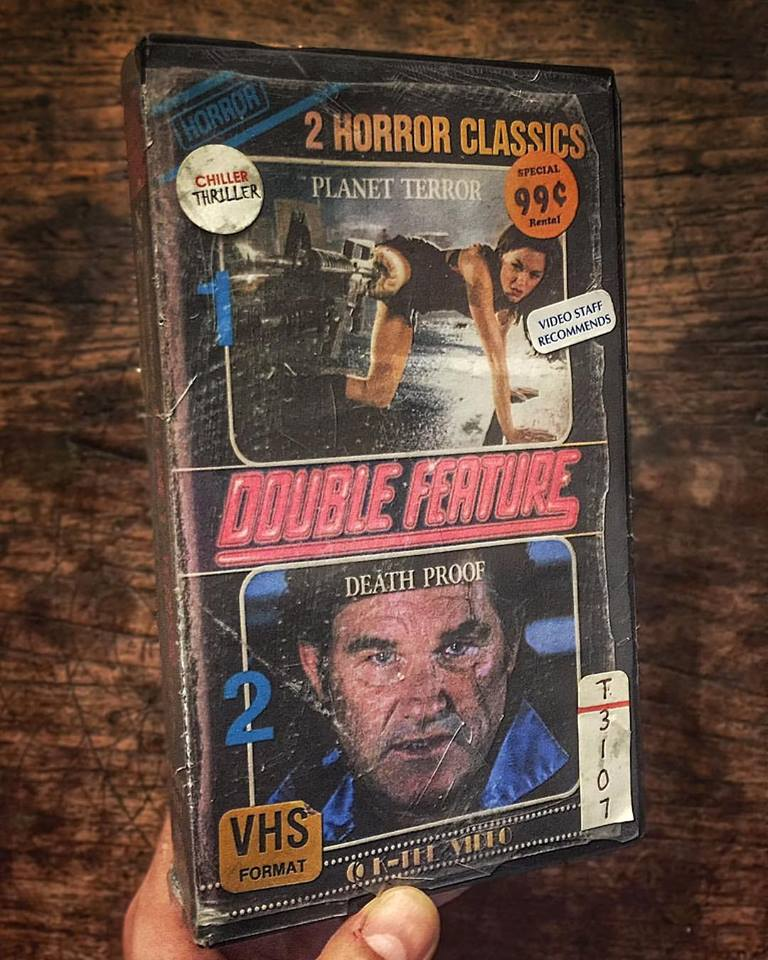 The Vcr From Heck Fifty Cartoons Week Tuesday 50: This Artist Imagines Modern Horror Favorites On VHS