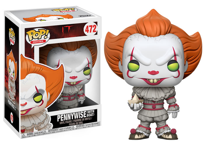 Fifth And Scariest Pennywise Pop Vinyl Toy Has Surfaced