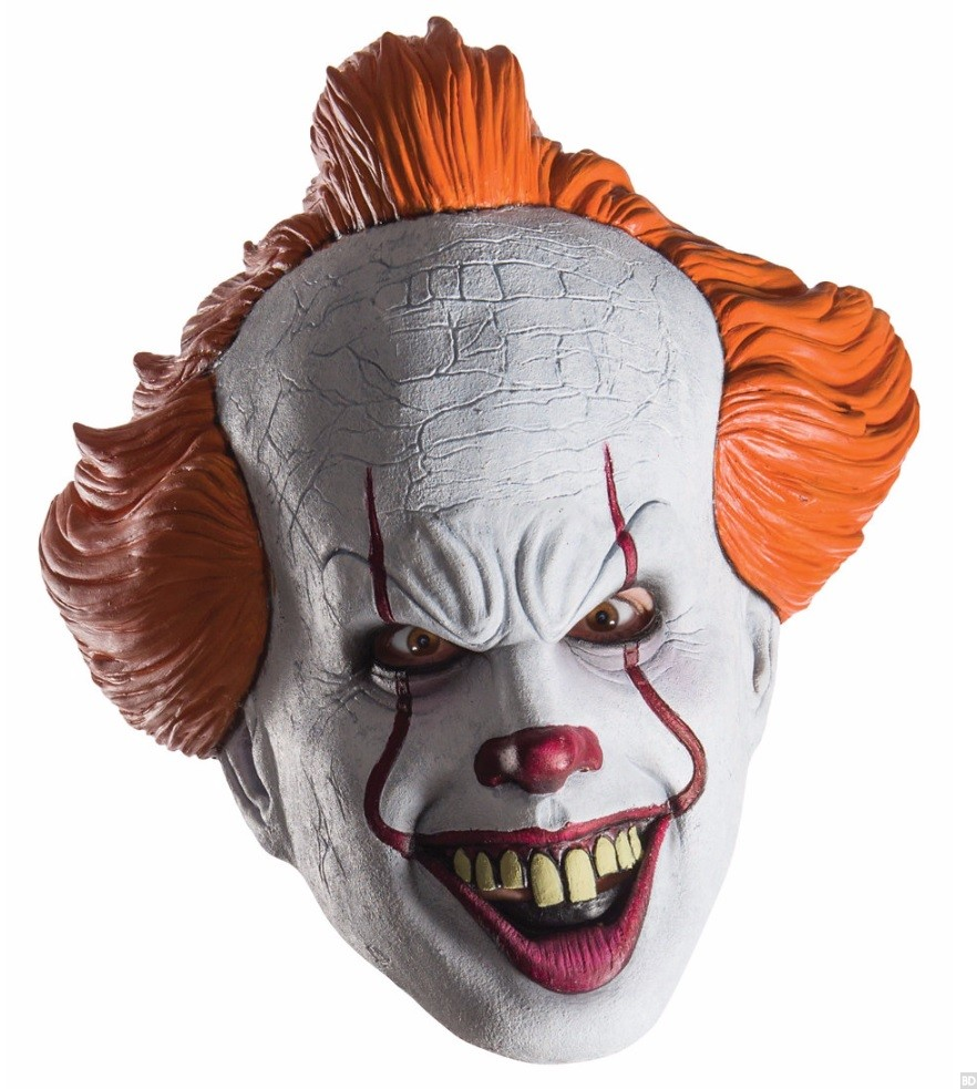 Remake Pennywise Halloween Masks Coming This Halloween Season ...